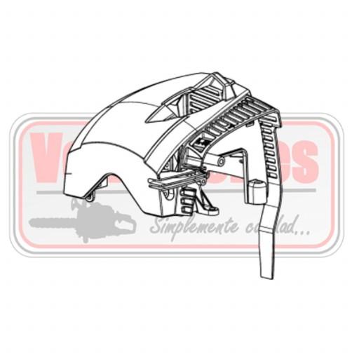 Carcasa motor Oleo Mac BC 530 550