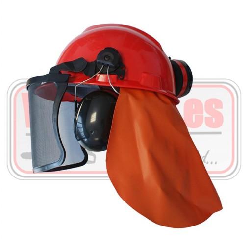 Casco TRBL Basic desbrozadora motosierra forestal auriculares