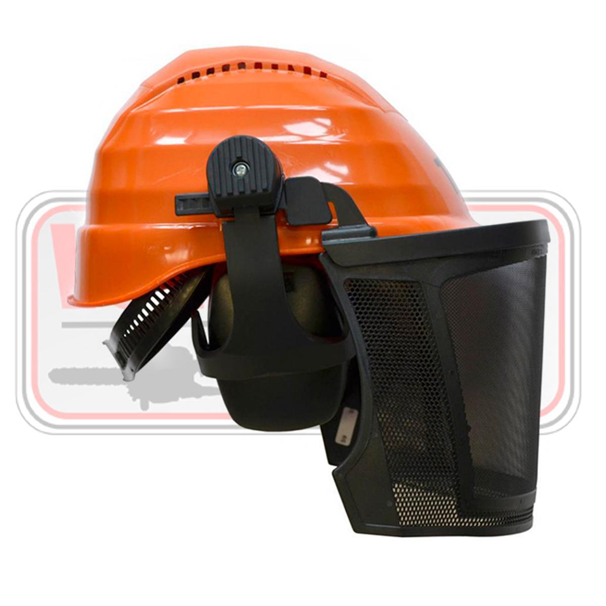 Casco TRBL Safety profesional desbrozadora motosierra forestal auriculares