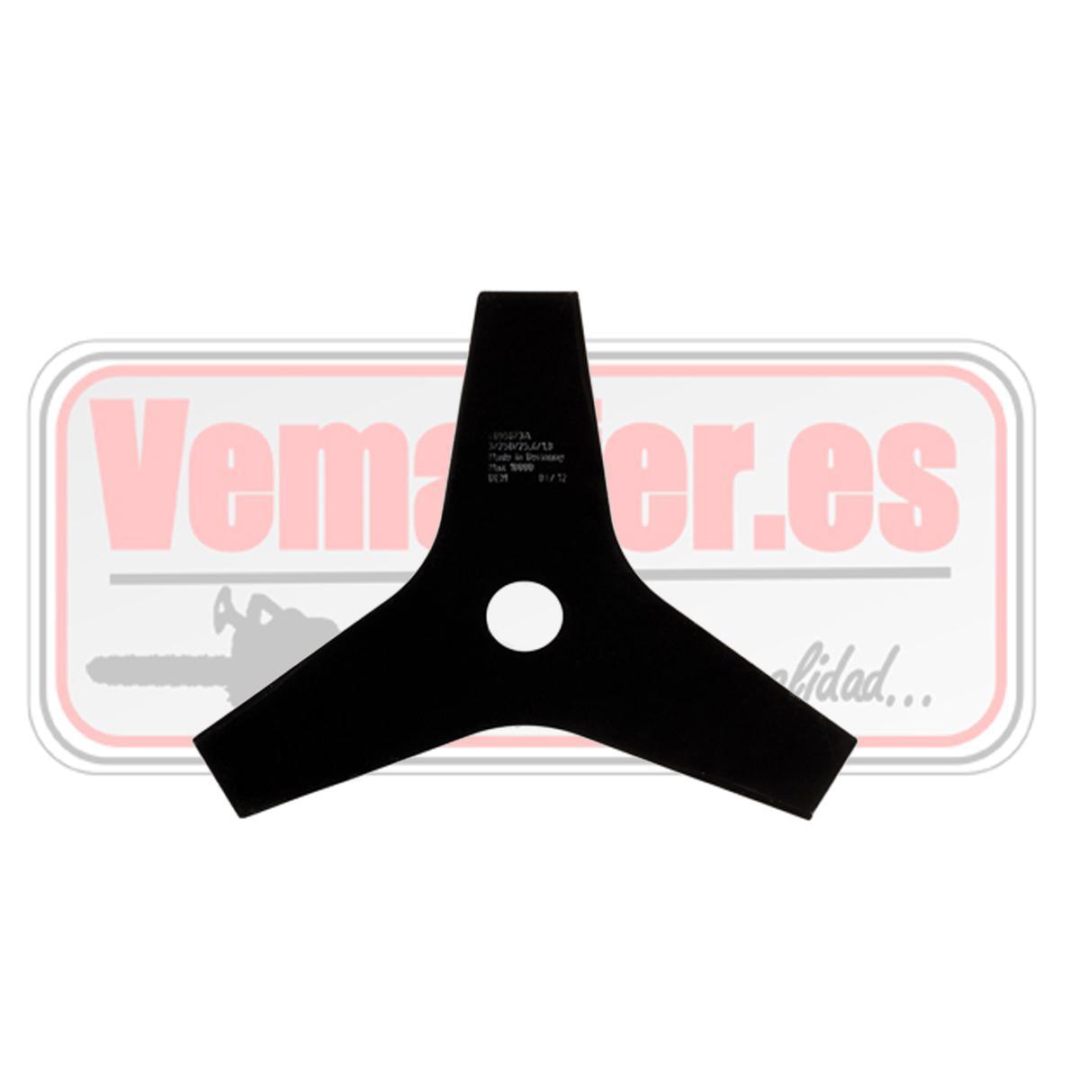 Disco de 3 puntas para desbrozadora Oleo Mac Sparta 250 / 25