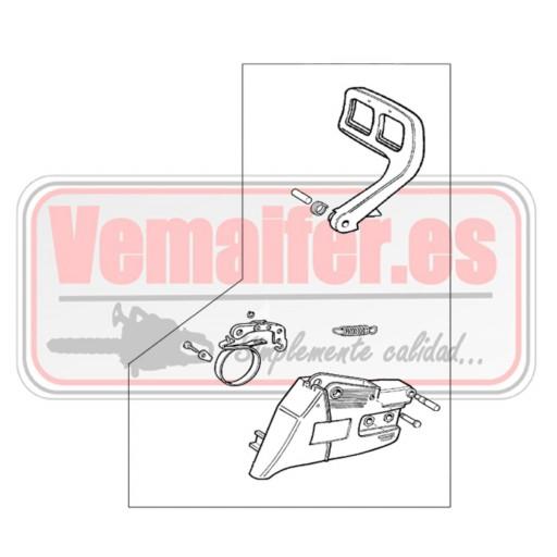 Tapa cadena recambio Oleo Mac 940 [0]