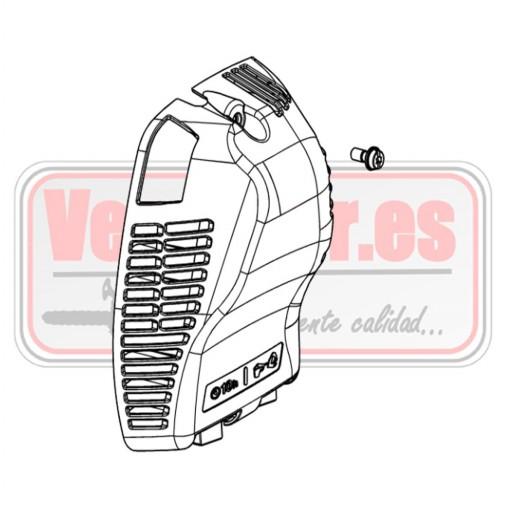Tapa de filtro de aire Oleo Mac BC 530 / 550  Ref. 54825