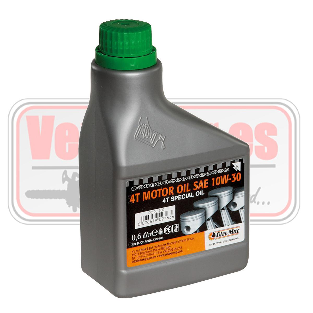 Aceite motor 4T 10W-30.