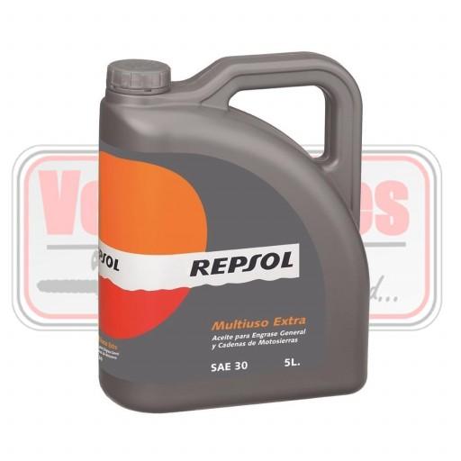Aceite cadena de motosierra Repsol 5L