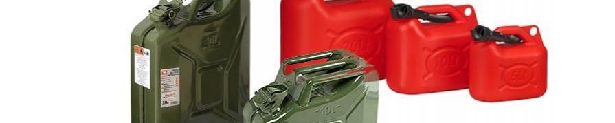 Precauciones con la gasolina en maquinaria de jardineria