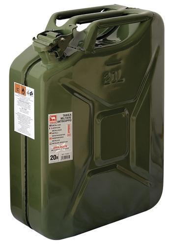 garrafa metalica para combustible 20l