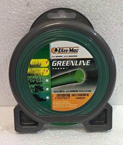 Hilo desbrozadora greenline 2,4 mm