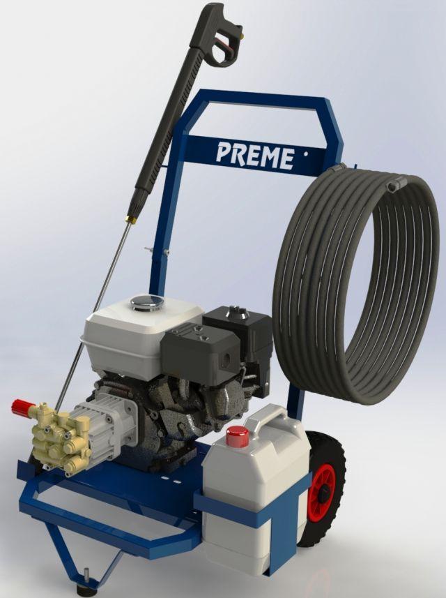 Hidrolimpiadora profesional gasolina