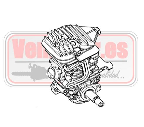 Bloque motor completo Oleo Mac GS 440