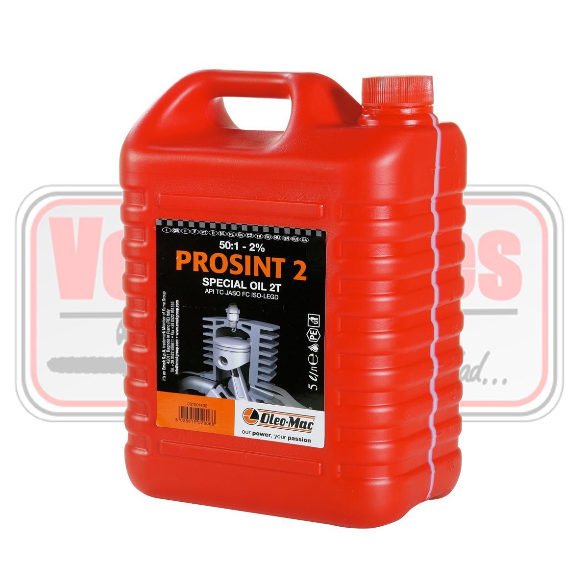 Aceite mezcla 2 tiempos prosint2evo