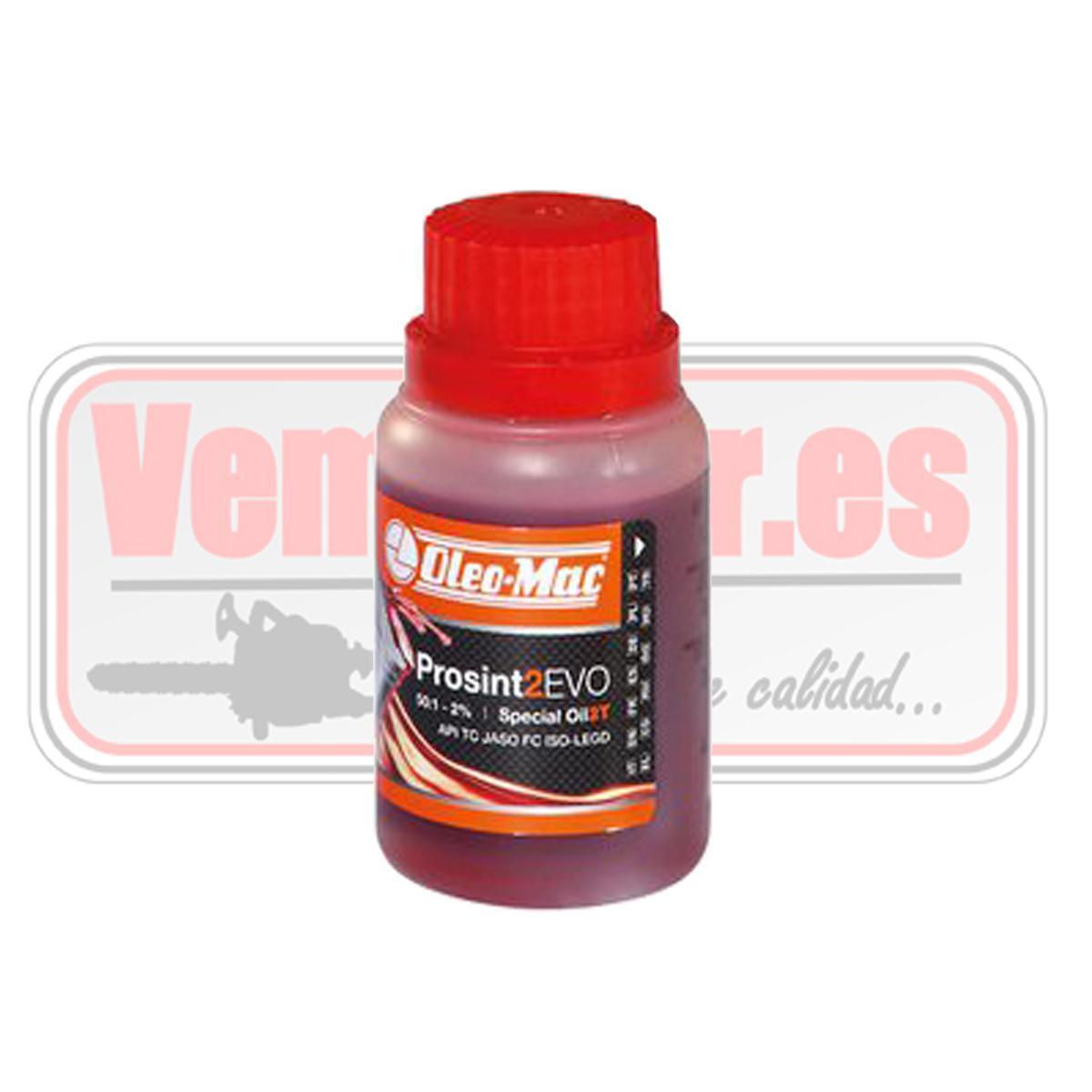 Aceite mezcla gasolina 2T Oleo Mac prosint 2 EVO