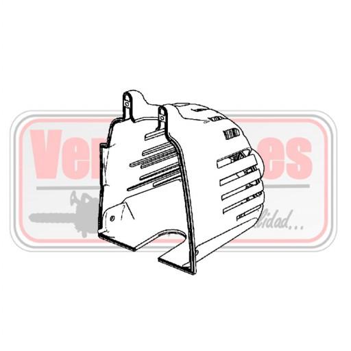 Tapa de silenciador Oleo Mac SPARTA 250 T / S [0]