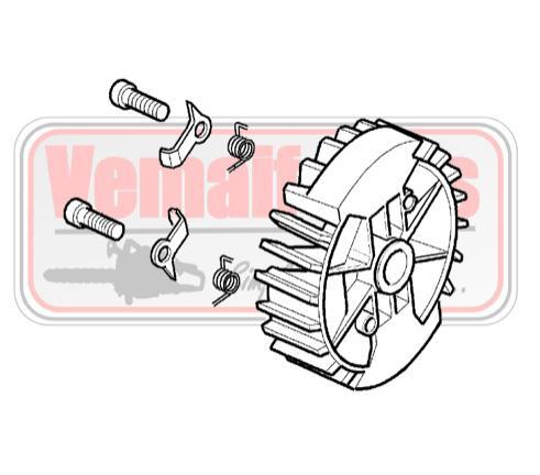 Plato magnético Oleo Mac GS 440