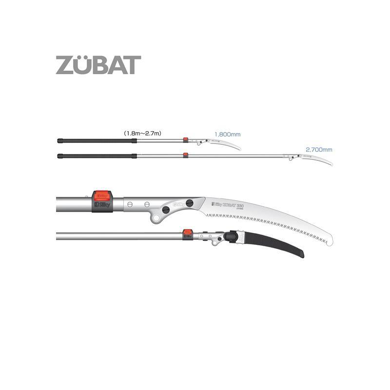 Silky Zubat Professional 1200 330 2-Ext