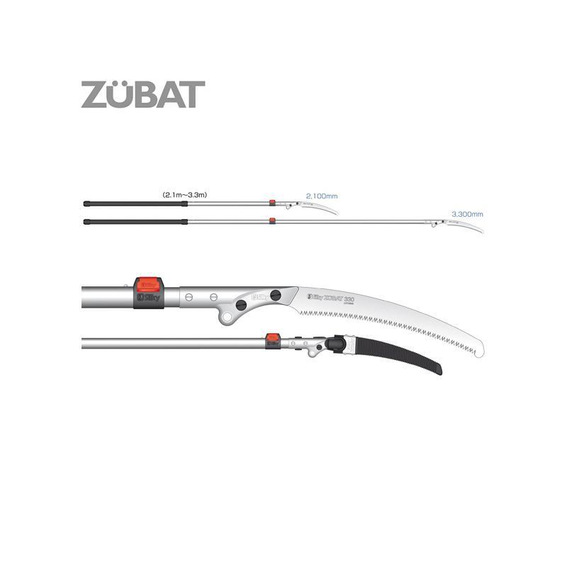 Silky Zubat Professional 1500 330 2-Ext