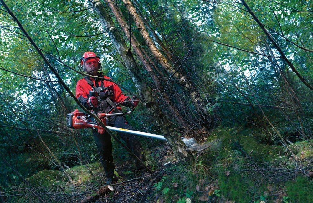 desbrozadora foresta jonsered MC 2256 husqvarna