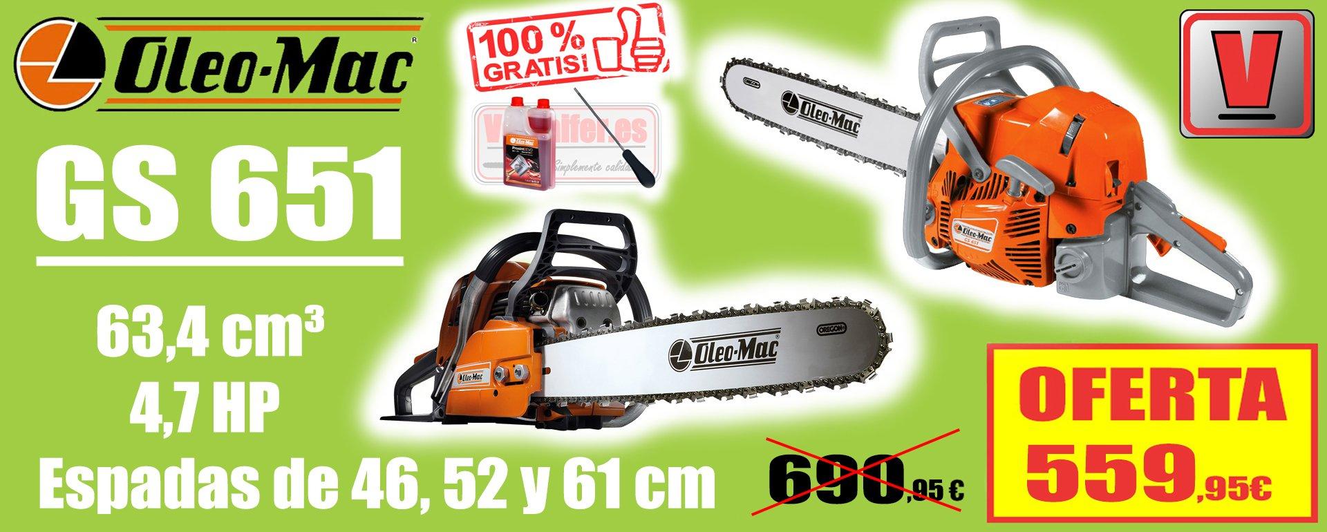 Oleo Mac GS 651
