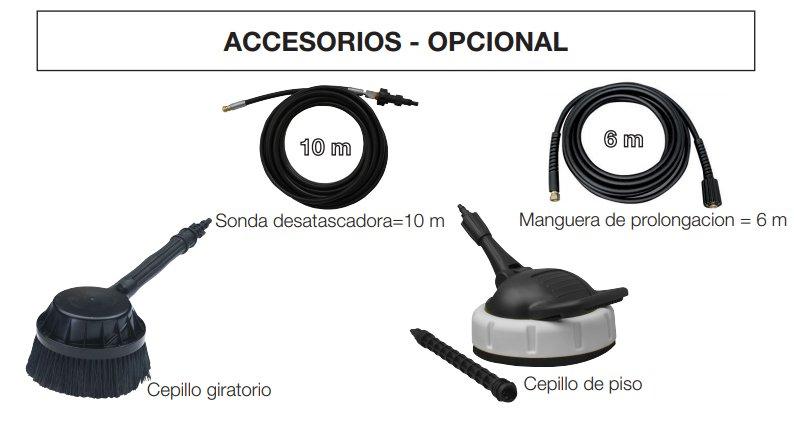 Accesorios hidrolimpiadora Oleo Mac