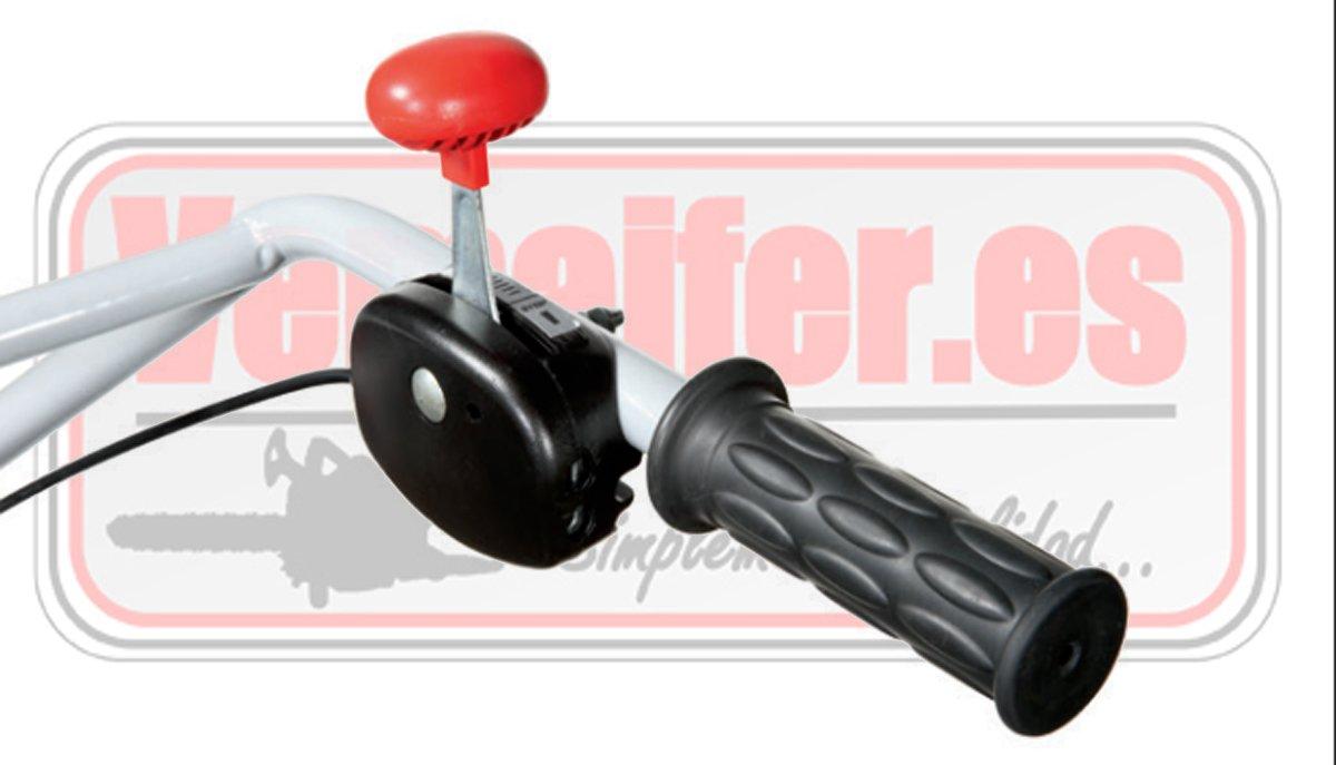 Motoazada pequeña ligera gasolina Oleo Mac MH155k acelerador