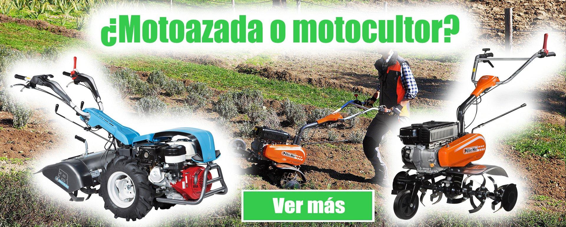 motoazadas de gasolina y motocultores