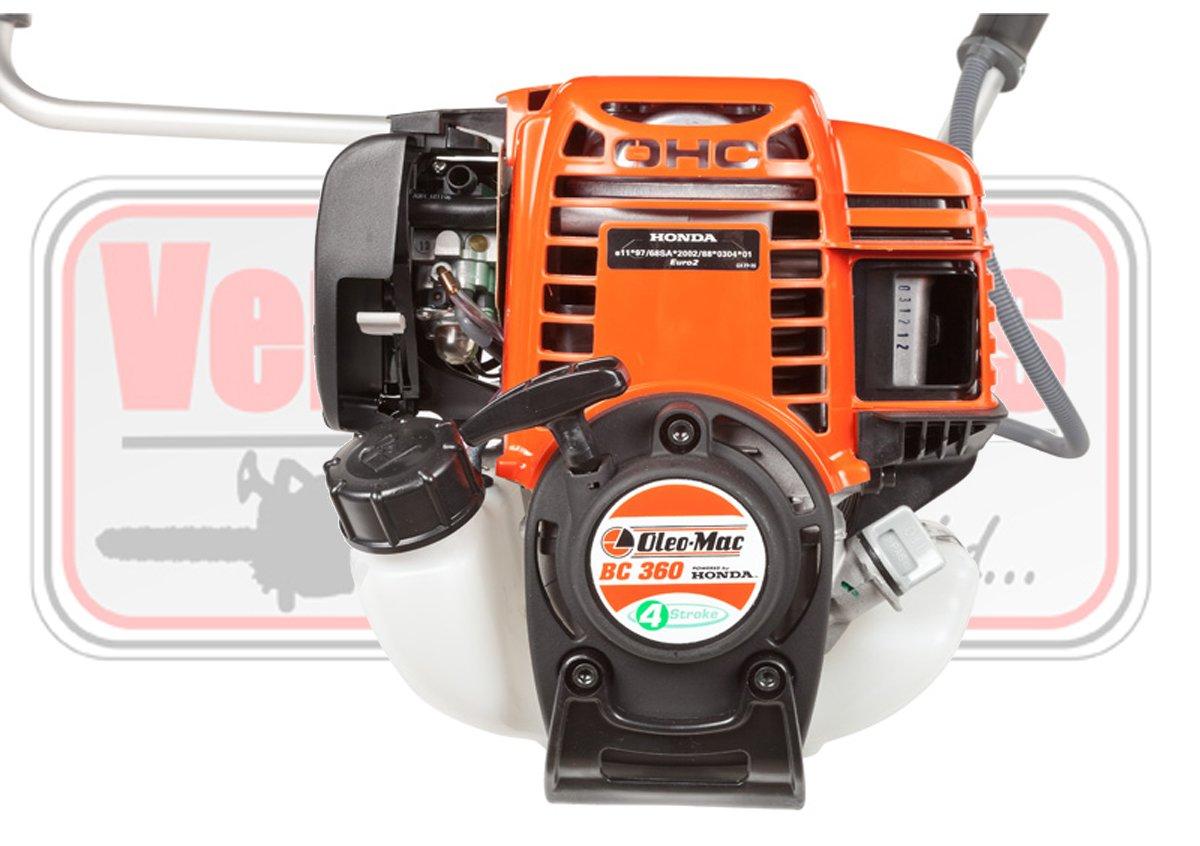 desbrozadora cuatro tiempos oleo Mac BC 360 4T motor HONDA