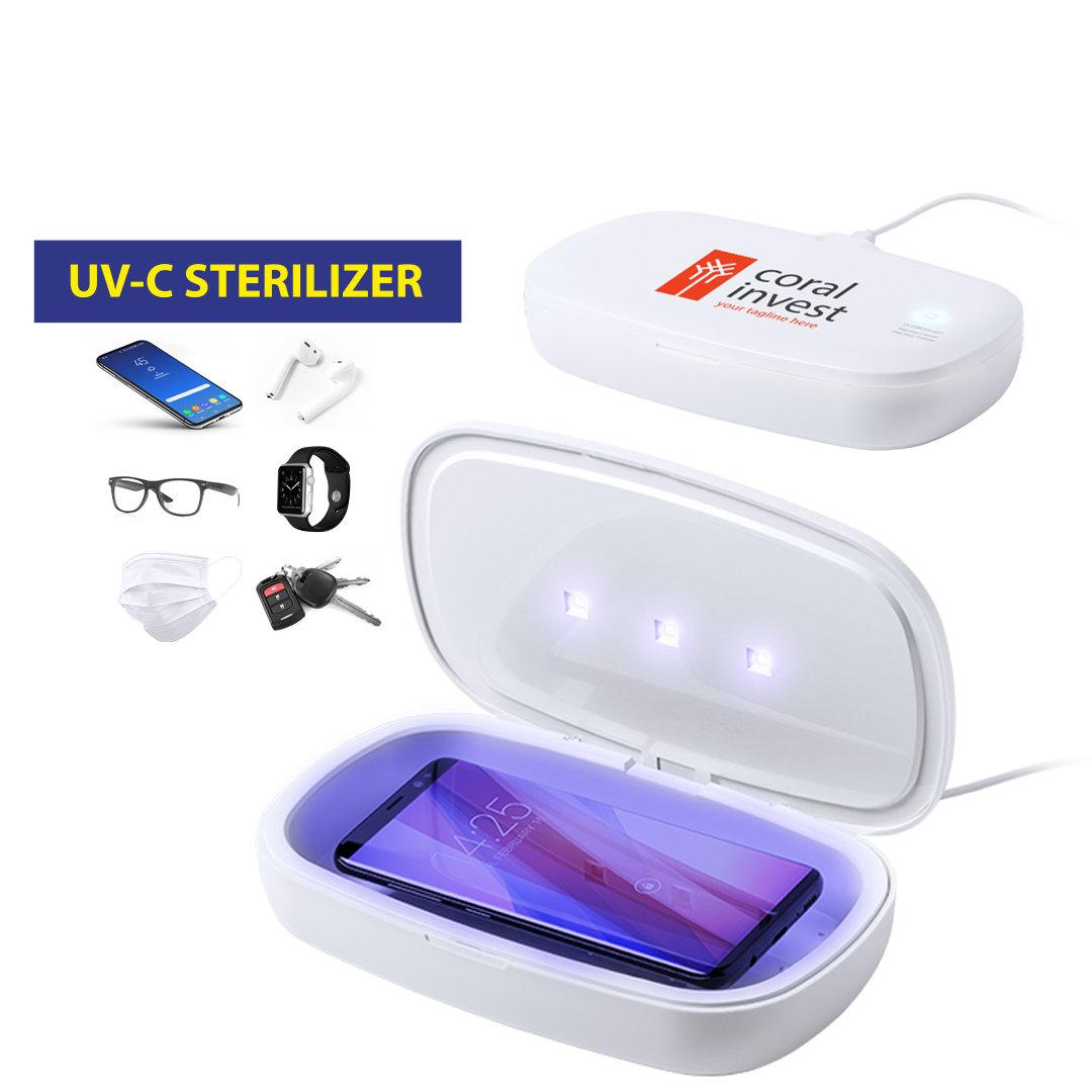 Caja esterilizadora de luz ultravioleta tipo C