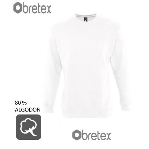 SUDADERA 80% ALGODON  CUELLO REDONDO  [0]