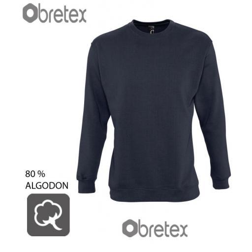 SUDADERA 80% ALGODON CUELLO REDONDO [3]