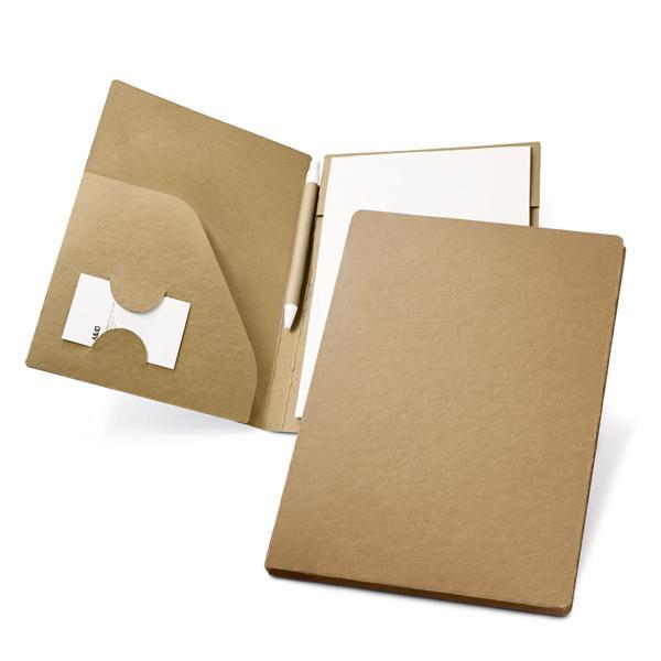portafolio carton reciclado A5