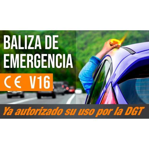 BALIZA DE EMERGENCIA Y PERSONALIZADA