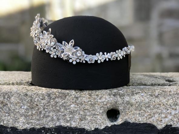 corona Lyra | corona para novia | rara avis tocados [1]