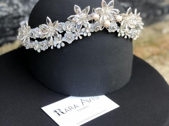 corona Lyra | corona para novia | rara avis tocados [2]