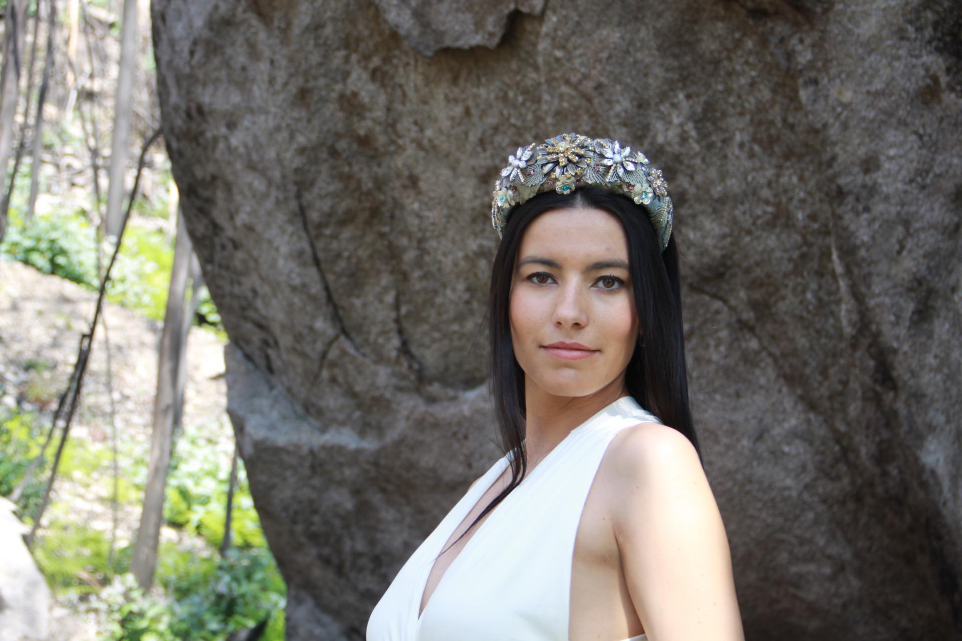 Diadema Afrodita Principal | Rara Avis Tocados