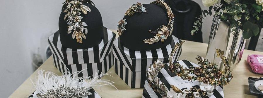 Diademas para novia e invitada de boda. Sigue las últimas tendencia de moda para eventos