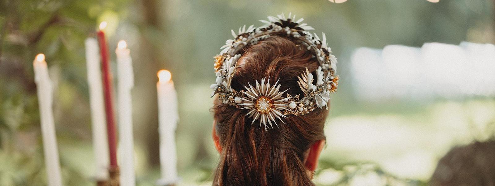 Tocados para novias colección 2020