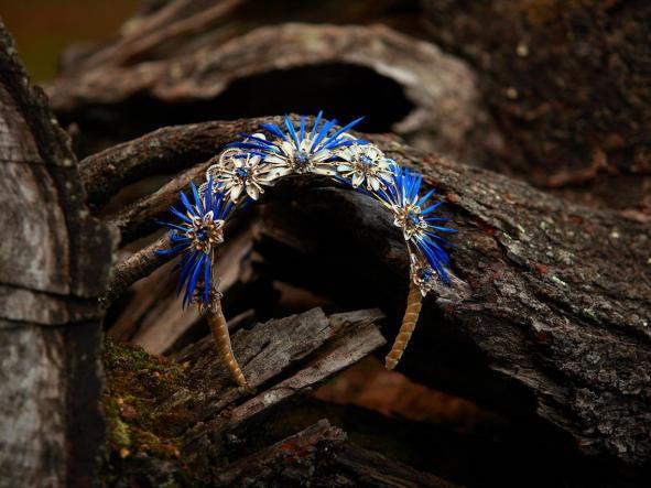 Diadema Evandra Azul [3]