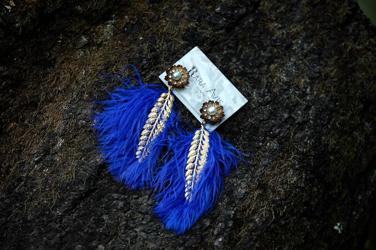 Pendientes Agave Azul