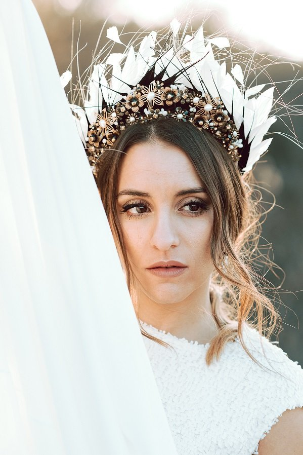 Princesas del Siglo XXI   Diademas Joya para Novias   Rara Avis Tocados