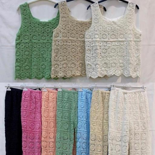 Pantalón Crochet Largo [2]