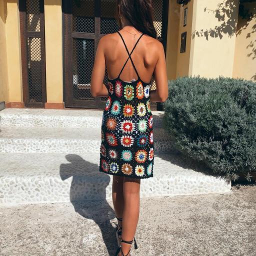 Vestido Halter Crochet [3]