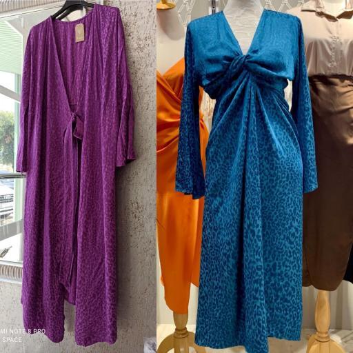 Vestido Kimono Print [3]