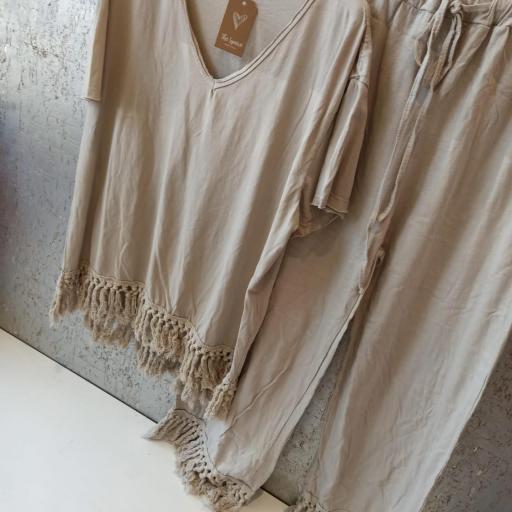 Pantalón Flecos [2]