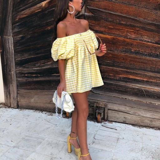 Vestido/ Blusa Vichy