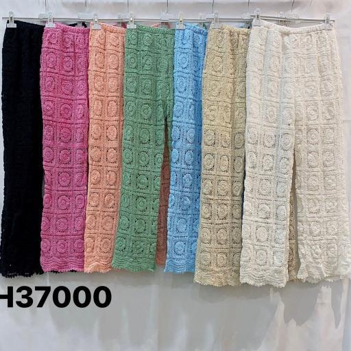 Pantalón Crochet Largo [1]
