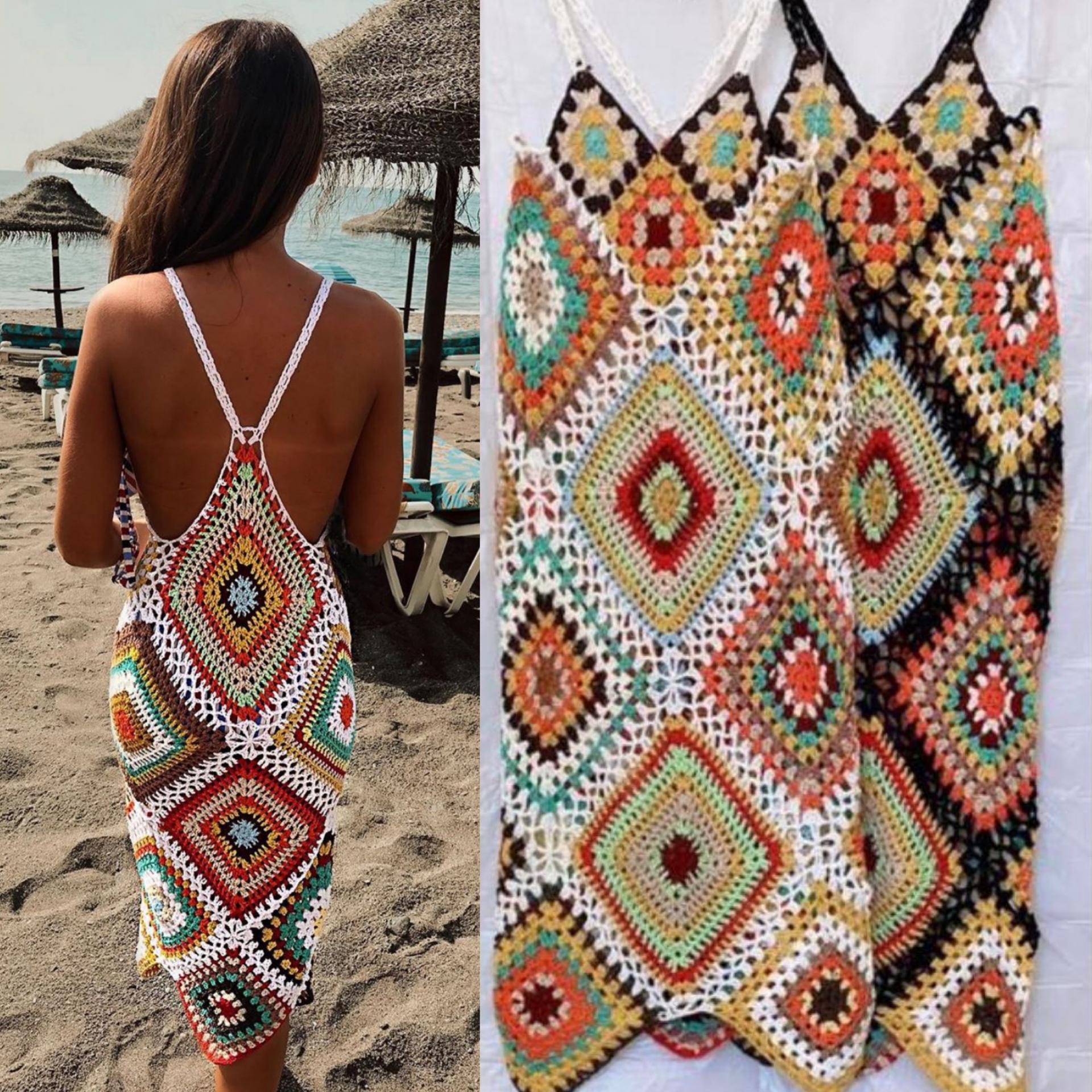 Vestido Crochet Summer