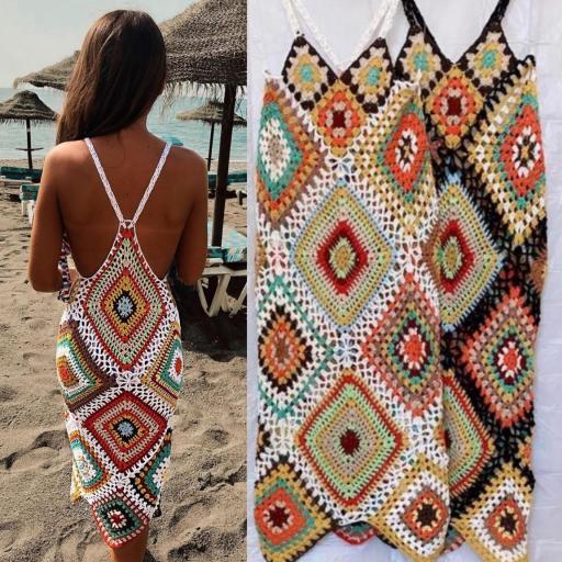 Vestido Crochet Summer [0]