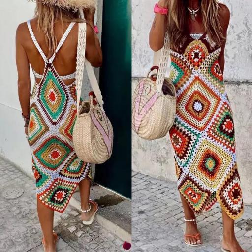 Vestido Crochet Summer [1]