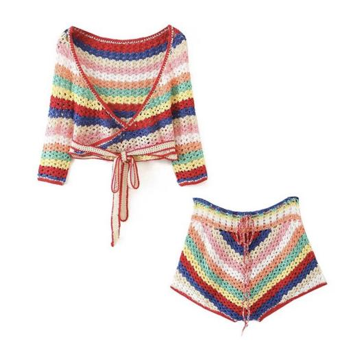 Conjunto Iris Crochet [2]