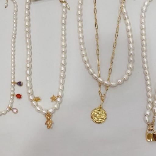 Colgante Perlas [2]