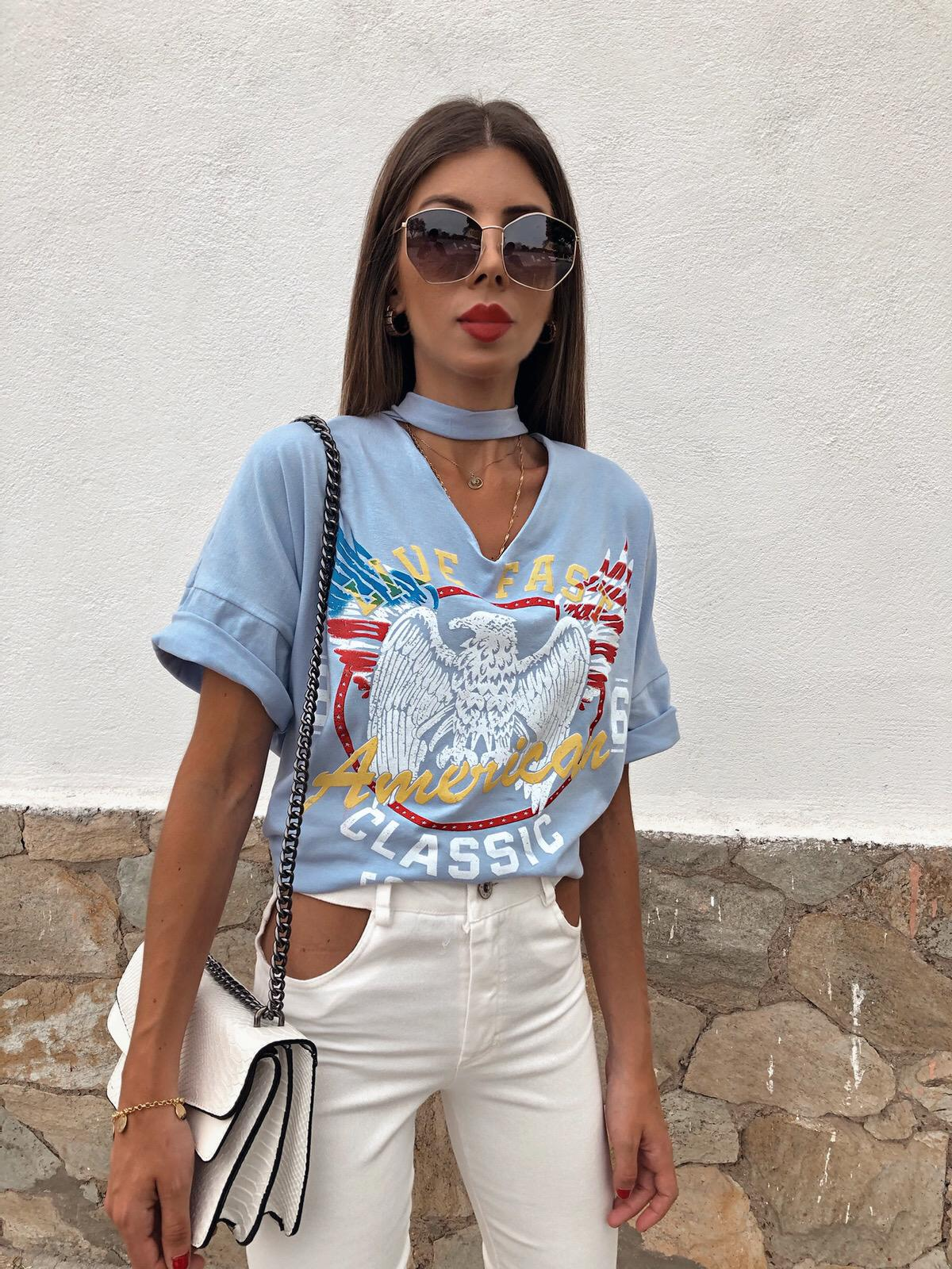 Camiseta Águila Choker